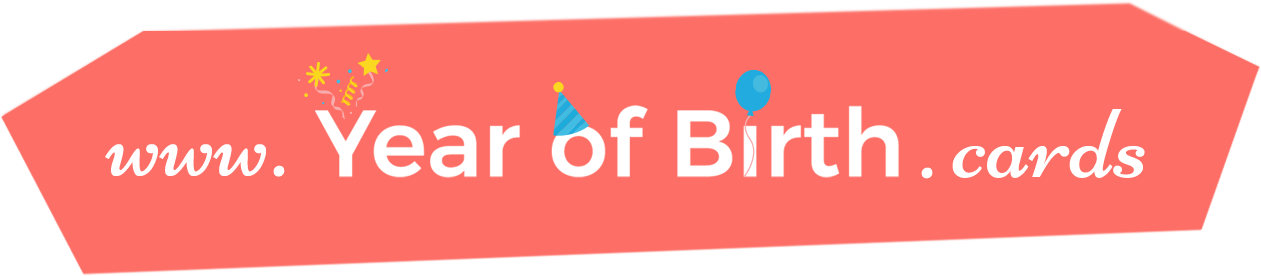 Year of Birth Cards logo
